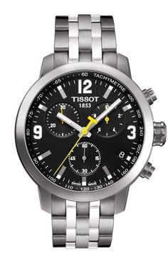 Reloj Cro Tissot Prc 200 Cronógrafo T0554171105700