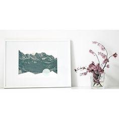 ninotschka fine art print BERG UND TAL (DIN A3 • 29,7x42cm)