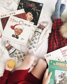 Photo vintage kitsch and cosy Christmas