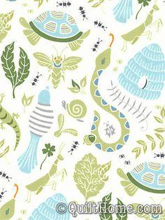 Backyard Baby Fabric By Patty Sloniger
