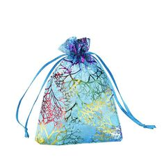 2d0f0279f21 Medium Size Mudder Accessories 100 Pieces Multi Colored Organza Gift Bags  Wedding Favor Bags Jewelry Pouches
