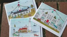 Artist Zoe Emma Scott now has her work in The Gallery. Greeting cards, fridge magnets, and prints, all adorned with her unique take on iconic local structures.