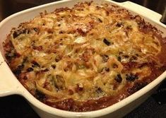 Kale, Sausage and Wild Rice Casserole Vegetable Casserole, Rice Casserole, Casserole Recipes, Hungarian Recipes, Hungarian Food, Chicken Sausage, Wild Rice, I Foods, Macaroni And Cheese