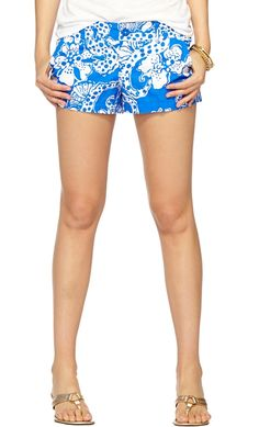 Lilly Pulitzer Walsh Printed Short in Quahog Chowdah