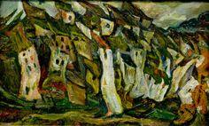 Chaim Soutine - Les maisons, 1921 - Chaim Soutine – Wikipedia