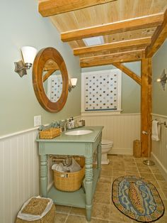 Bathrooms+turquoise+brown+bead Board Design, Pictures, Remodel, Decor and Ideas - page 18