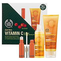 The Body Shop - Vitamin C 3-Piece Radiance Boosting Kit — Dull Skin    #sephora