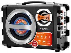 Caixa Amplificada Multiuso Mondial Thunder II - MCO-02 40W RMS c/ Karaokê Entrada USB/SD/Auxiliar com as melhores condições você encontra no Magazine Sualojaverde. Confira!