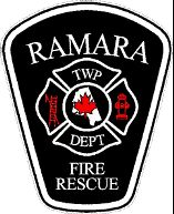 Ramara Township Fire Department Patch