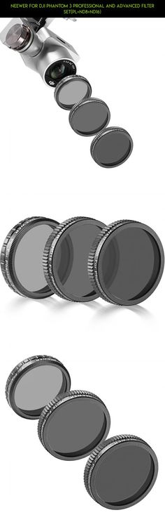 Neewer for DJI Phantom 3 Professional and Advanced Filter Set(PL+ND8+ND16) #filters #gadgets #3 #products #plans #tech #dji #technology #racing #nd #camera #kit #shopping #phantom #parts #fpv #advanced #drone