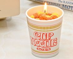 Ramen Cup Candle - Gifts for Home