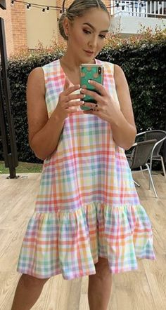 Modest Dresses, Simple Dresses, Casual Dresses, Short Sleeve Dresses, Cute Summer Dresses, Cute Dresses, Lace Gown Styles, Stylish Outfits, Fashion Outfits