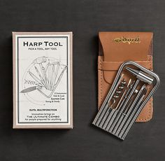 Eight Piece Harp Tool