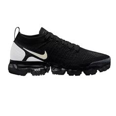 super popular 8d772 ab10a Nike Air VaporMax 2018 Flyknit 2.0 OW Black White Grey Men Nike Air  Vapormax, New
