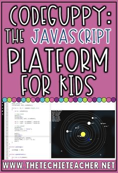 CodeGuppy: The Javascript Coding Platform for kids Educational Websites, Educational Technology, Introduction To Programming, Coding For Kids, Teaching Resources, Teaching Ideas, Special Education Classroom, Learn To Code, Teacher Blogs