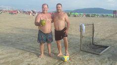 Futebol em Santos só Família Pombal