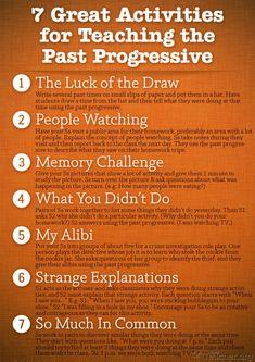 7 Great Activities to Teach the Past Progressive