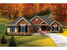 ePlans Ranch House Plan –2065 Square Feet and 3 Bedrooms from ePlans – House Plan Code HWEPL75812