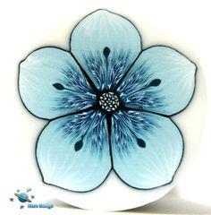 Sky blue flower cane | Flickr - Photo Sharing!