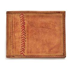 J peterman baseball glove wallet