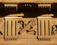 Bath, England The Circus triglyphs