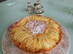 Gâteau pommes / vanille