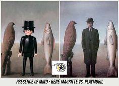 Presence of Mind - René Magritte vs. Steampunk, Star Wars Personajes, Rene Magritte, Photoshop, Painting, Artwork, Blog, Classical Art, Artworks