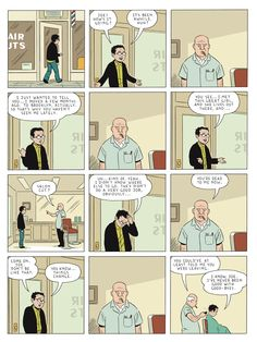 Adrian Tomine's Barber
