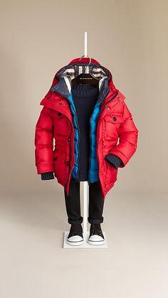 Burberry Contrast Warmer Puffer Jacket
