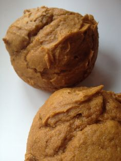 Two ingredient pumpkin muffins = Only 2 Weight Watchers points each! All you need is cake mix & a 15 oz can of pumpkin! Especially since I don't eat eggs!