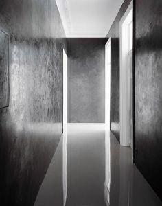 #interior design #architecture #minimalism - Berlin apartment of Angelika Taschen by David Adjaye. Photo by Hiepler Brunier.