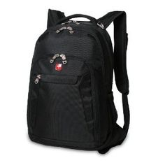 Swiss Gear ScanSmart 15-inch Black Laptop Backpack, Multicolor ...