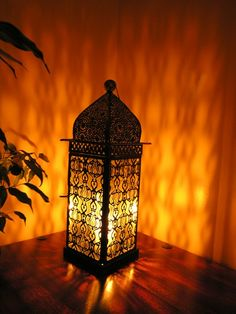 Moroccan Table Top Lamps - Table Lamps and Lanterns Moroccan Table Lamp, Moroccan Decor, Indian Furniture, Filigree Design, New Room, Soft Furnishings, Floor Lamp, Living Room Decor, Dining Room