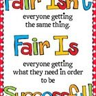 This is a popular quotation from Rick Wormeli. He wrote the book, Fair Isn't Always Equal: Assessing and Grading in the Differentiated Classroom....