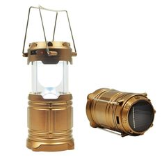 SKYLOVE® 2016 Ultra Bright LED Lantern, Collapsible Camping Lantern, Super Bright, Lightweight and Water Resistant, Suitable for: Hiking, Camping, Emergencies, Hurricanes, Outages-Gold ** Be sure to check out this awesome product.
