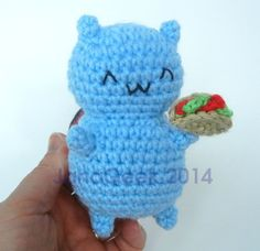 Catbug Bravest Warriors Amigurumi Crochet Doll with by JanaGeek, $29.99
