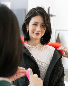 Yeeun Korean Actress Hairstyles agree to it, youve probably heard approximately the haircut trend featuring none new than the well-liked Korean rapid hair for w My Hairstyle, Pretty Hairstyles, Bob Hairstyles, Korean Short Hair, Short Hair Cuts, Short Hair Styles Asian, Long Asian Hair, Hair Inspo, Hair Inspiration