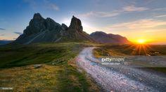 ストックフォト : Landscape of Eystrahorn mountain, South East of Iceland, Hvalnesfjall.