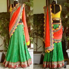 lengha for sangeet or garba  #indianwedding, #shaadibazaar
