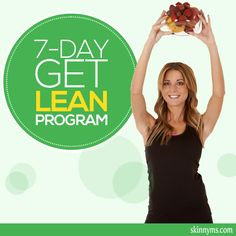 Try the 7-Day Get Lean Program #weightloss, #fatloss