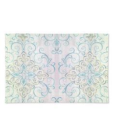 Blue Scroll French Perle Charmed Place Mat - Set of Four by Lenox #zulily #zulilyfinds