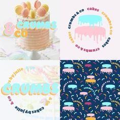 Get 20% off all branding services in October 2020 Branding Services, Corporate Branding, Personal Branding, Bakery Logo Design, Cake & Co, Color Inspiration, Graphic Design, Brand Management, Self Branding