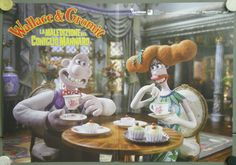 UG54 Wallace Gromit Aardman Animation Curse of The Were Rabbit 4 Orig ITA Poster   eBay