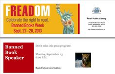 Bookmark from Pearl Public Library
