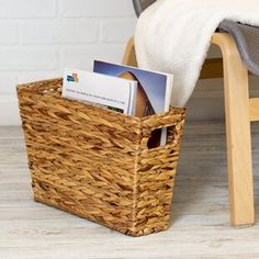 Best Wicker Baskets and Farmhouse Baskets for your home. We have a variety of farm home style baskets for organization and decor. Farmhouse basket decor can be used for storage and more. Seagrass Storage Baskets, Rattan Basket, Fabric Storage Bins, Fabric Bins, Towel Storage, Decorative Storage, Small Storage, Rectangular Baskets, Plastic Baskets