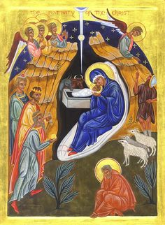 The Nativity Of The Christ by Juliet Venter