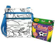 #craftshout0227 Color Me Bag, Unisex Messenger Bag, Kids Bag, Messenger Bag, Unisex Messenger Bag, Messenger Bag, Satchel, Knapsack, Sling Bag, Kids Satchel