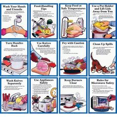 Cooking-Safety-Rules.png 675×954 pixels | Seven week lesson plan ...
