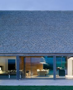 Cotswold modern new build stone barn, McLean Quinlan architects, timber frame