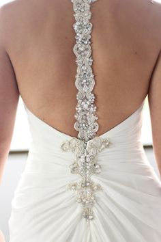 low back wedding dress. I want to renew my wedding vows so I can get a fabulous new dress! ok, I kinda really love my husband too Bridal Gowns, Wedding Gowns, Wedding Cakes, Perfect Wedding, Dream Wedding, Yes To The Dress, Wedding Attire, Wedding Bells, Just In Case